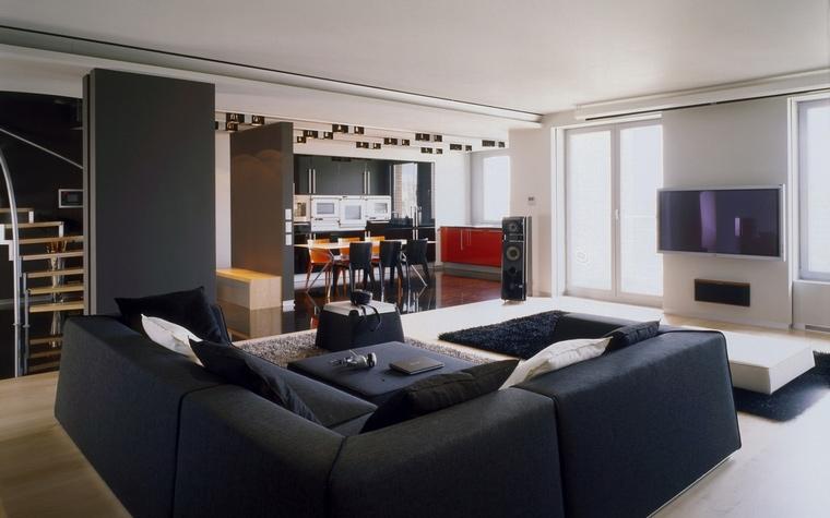 интерьер гостиной - фото № 57236