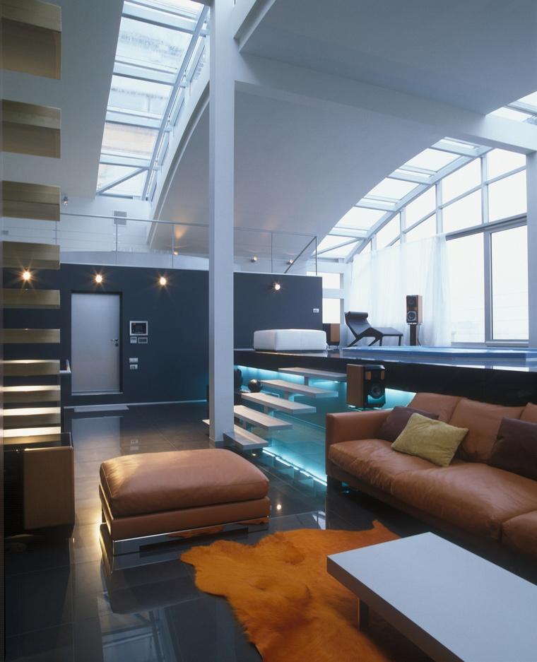 интерьер гостиной - фото № 57239