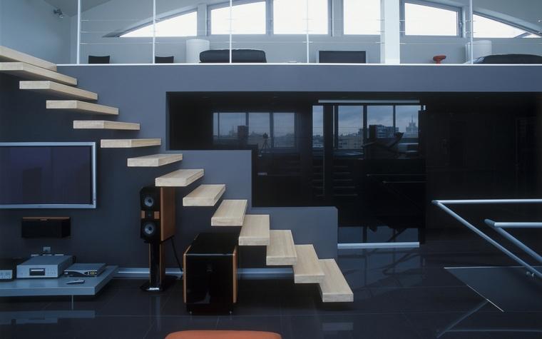 интерьер гостиной - фото № 57240