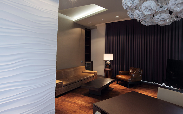 Квартира. гостиная из проекта , фото №57307