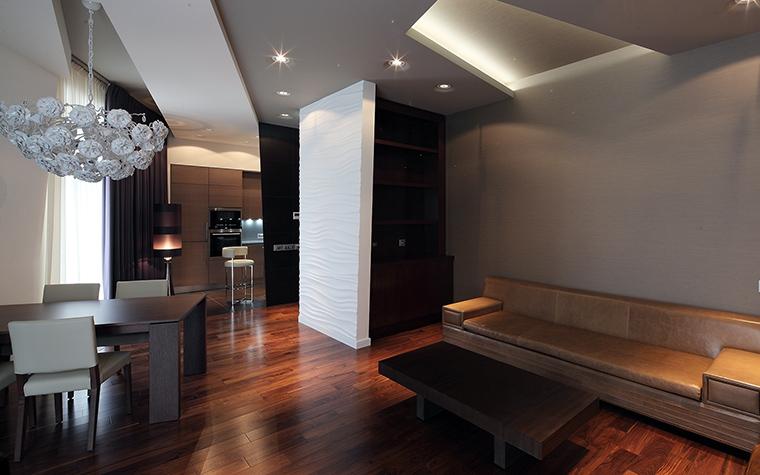 Квартира. гостиная из проекта , фото №57309