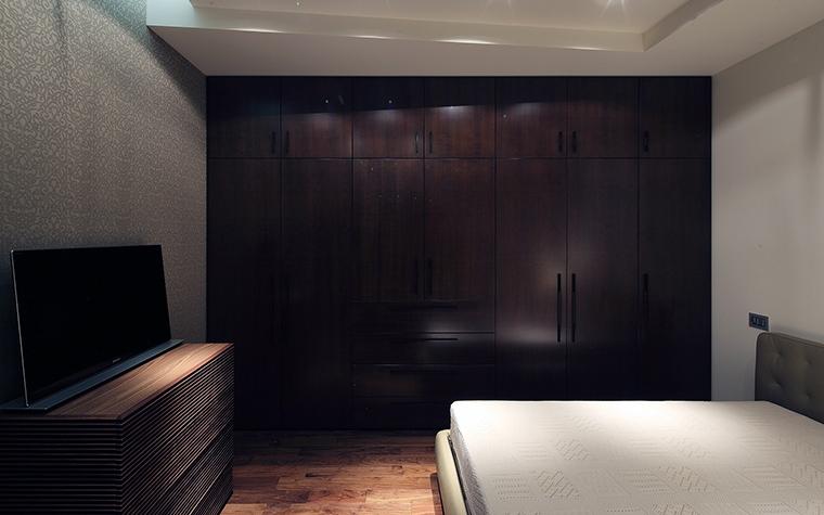 Квартира. спальня из проекта , фото №57315