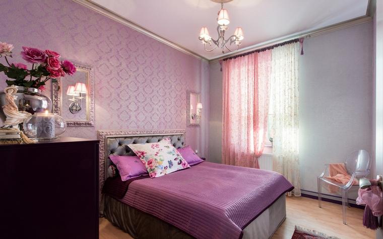 Квартира. спальня из проекта , фото №57396