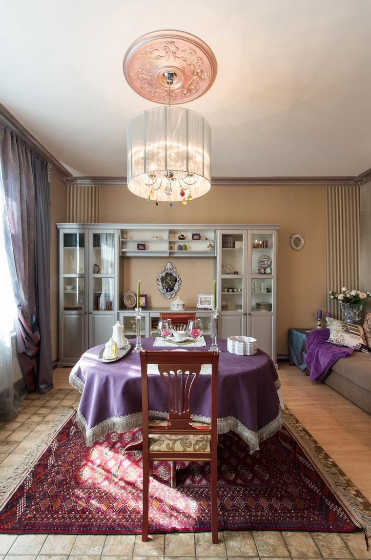 Квартира. столовая из проекта , фото №57392