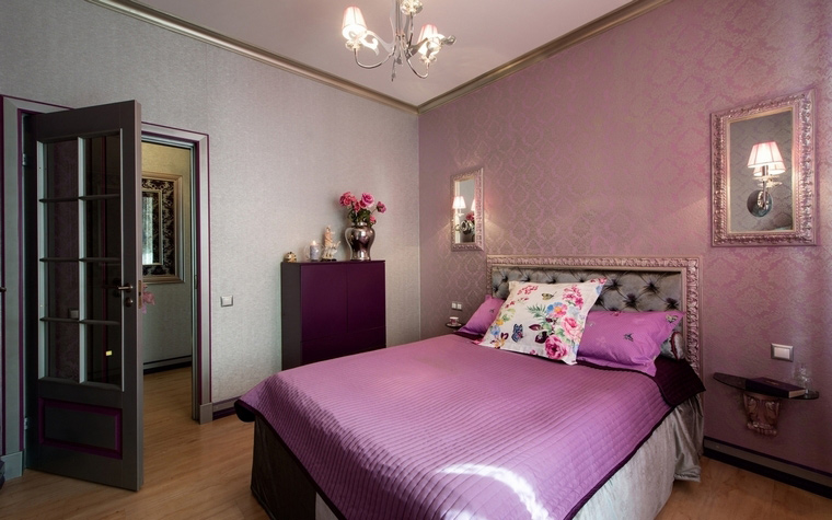 Квартира. спальня из проекта , фото №57395