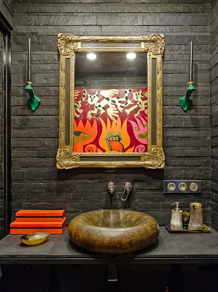 Квартира. ванная из проекта , фото №57417