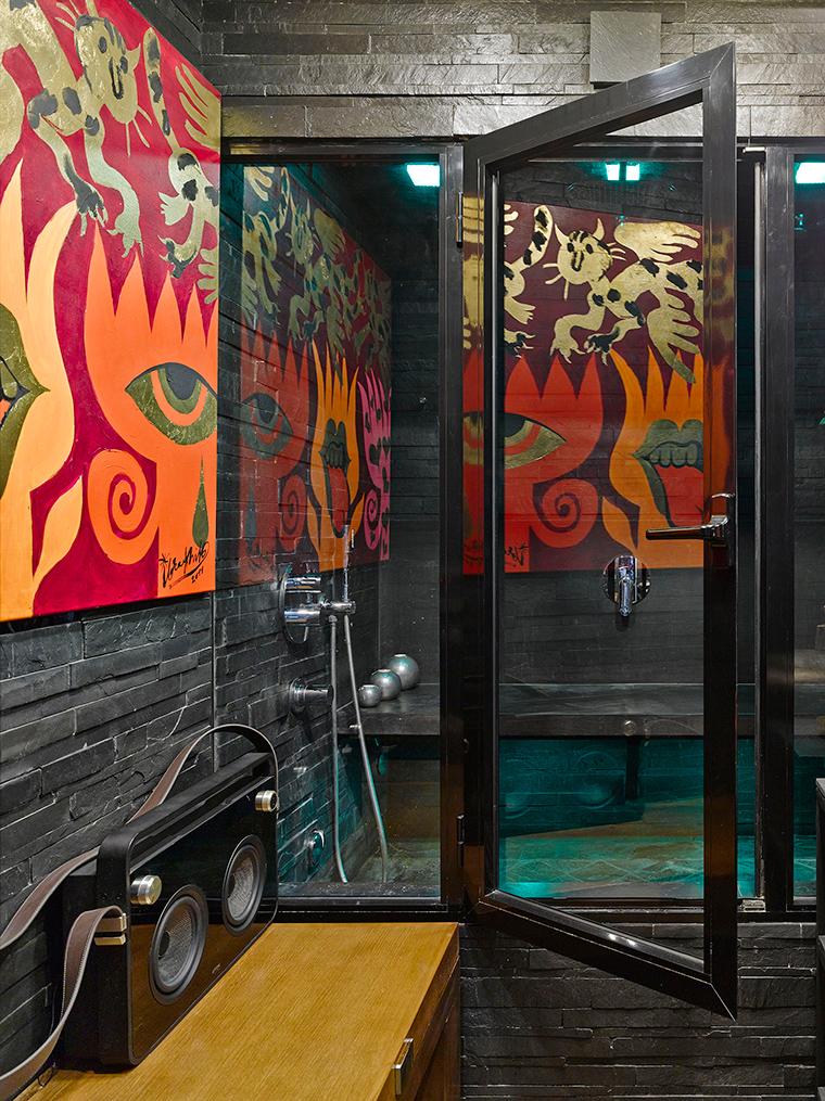 Квартира. ванная из проекта , фото №57418