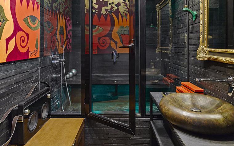 Квартира. ванная из проекта , фото №57419