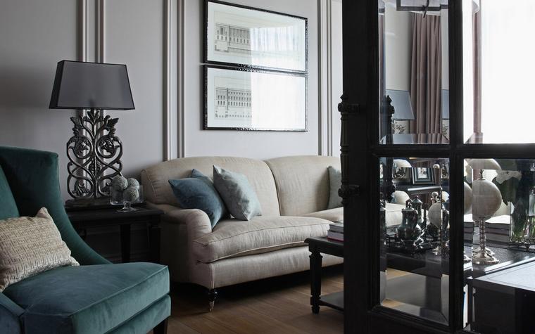 Квартира. гостиная из проекта , фото №57594