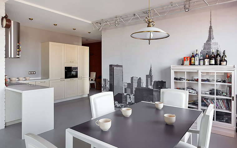 Фото № 57647 кухня  Квартира
