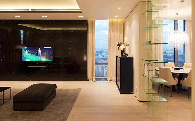 Фото № 57675 гостиная  Квартира