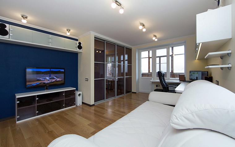 Фото № 57729 гостиная  Квартира