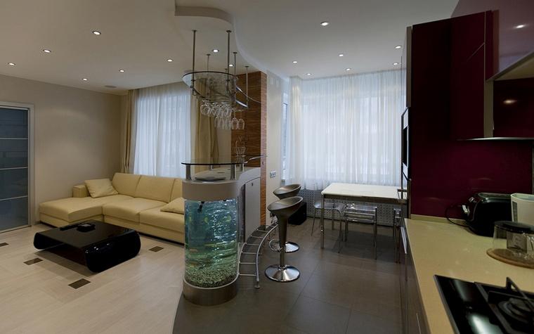 Квартира. гостиная из проекта , фото №57783