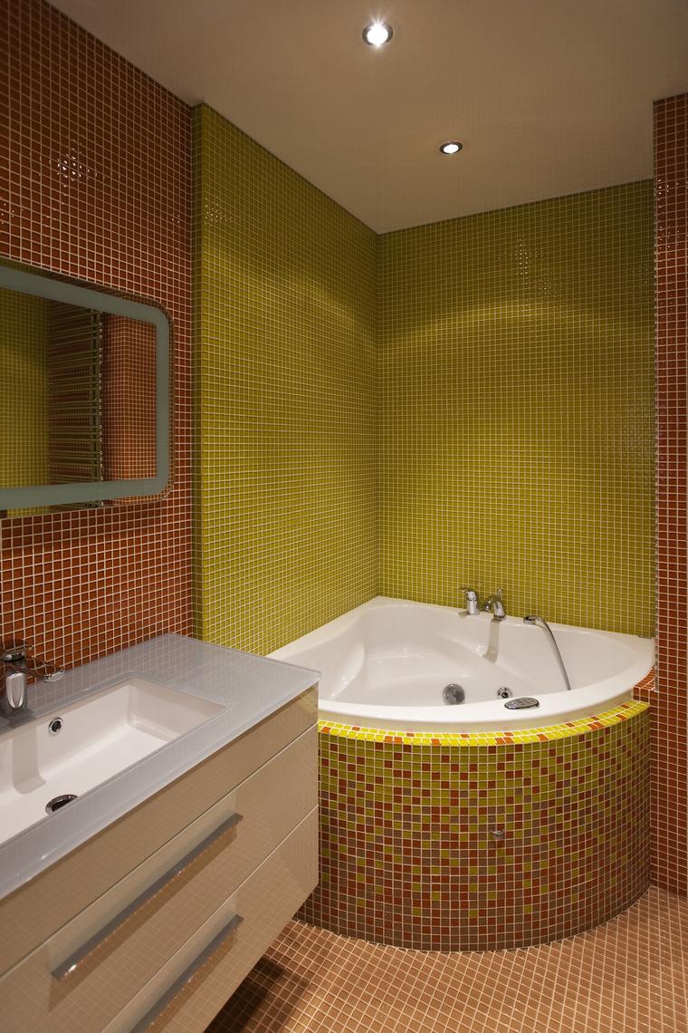 Квартира. ванная из проекта , фото №57784