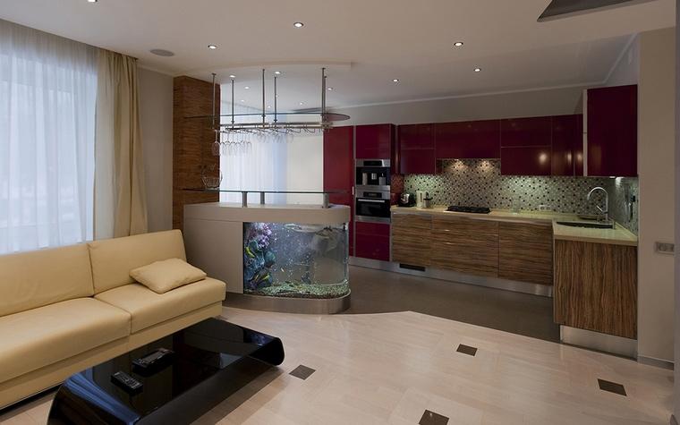 Квартира. гостиная из проекта , фото №57781