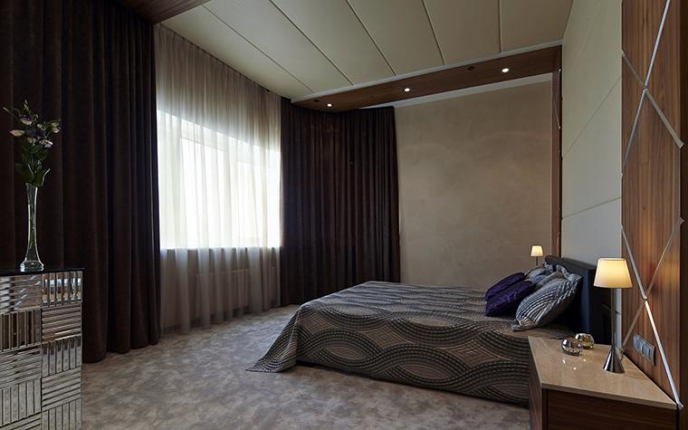 Квартира. спальня из проекта , фото №57963