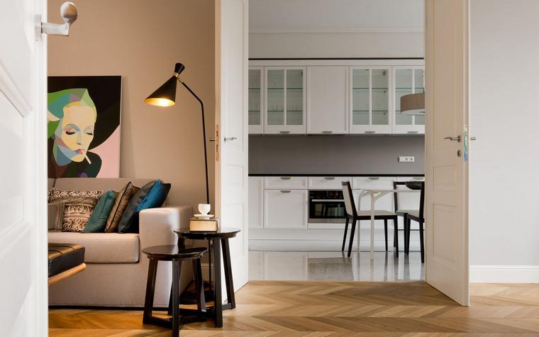 Квартира. гостиная из проекта , фото №58059