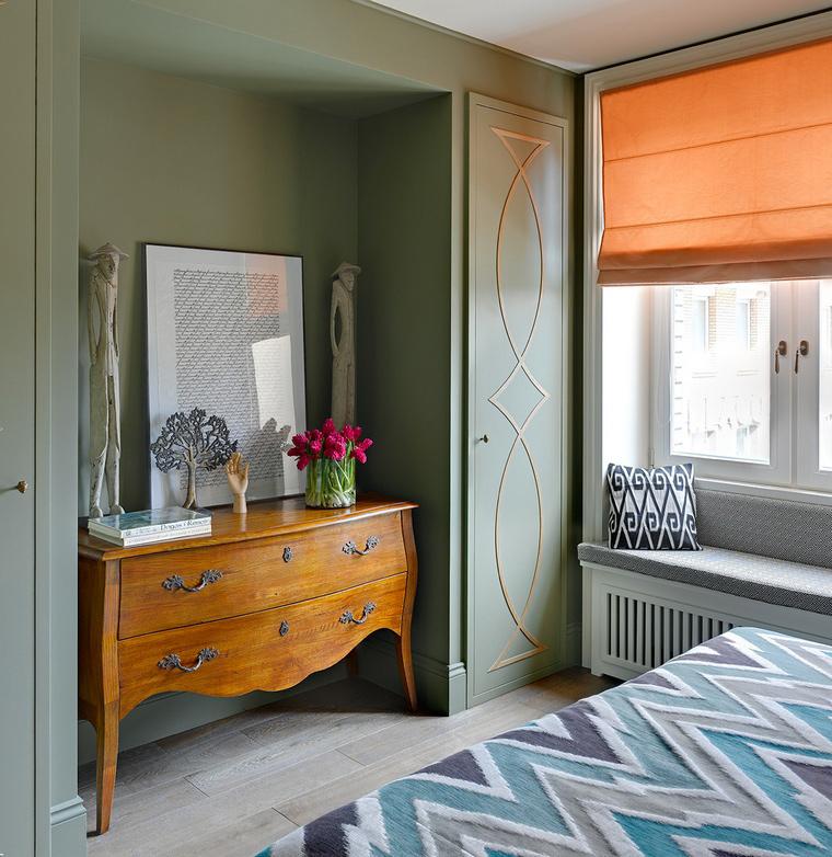 интерьер спальни - фото № 58102