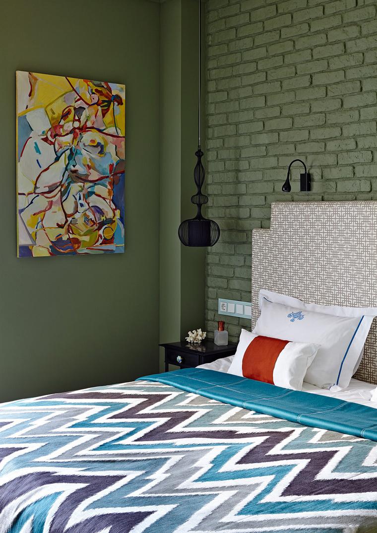 интерьер спальни - фото № 58095