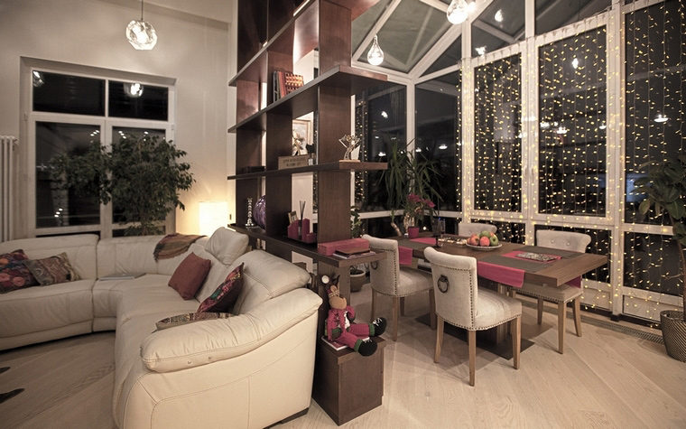 интерьер гостиной - фото № 58198