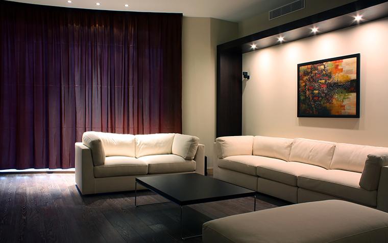 Квартира. гостиная из проекта , фото №58196