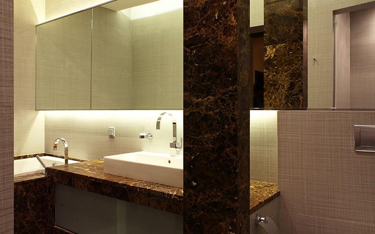 Квартира. ванная из проекта , фото №58202