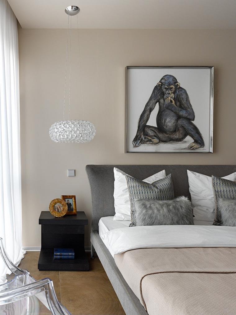 интерьер спальни - фото № 58255