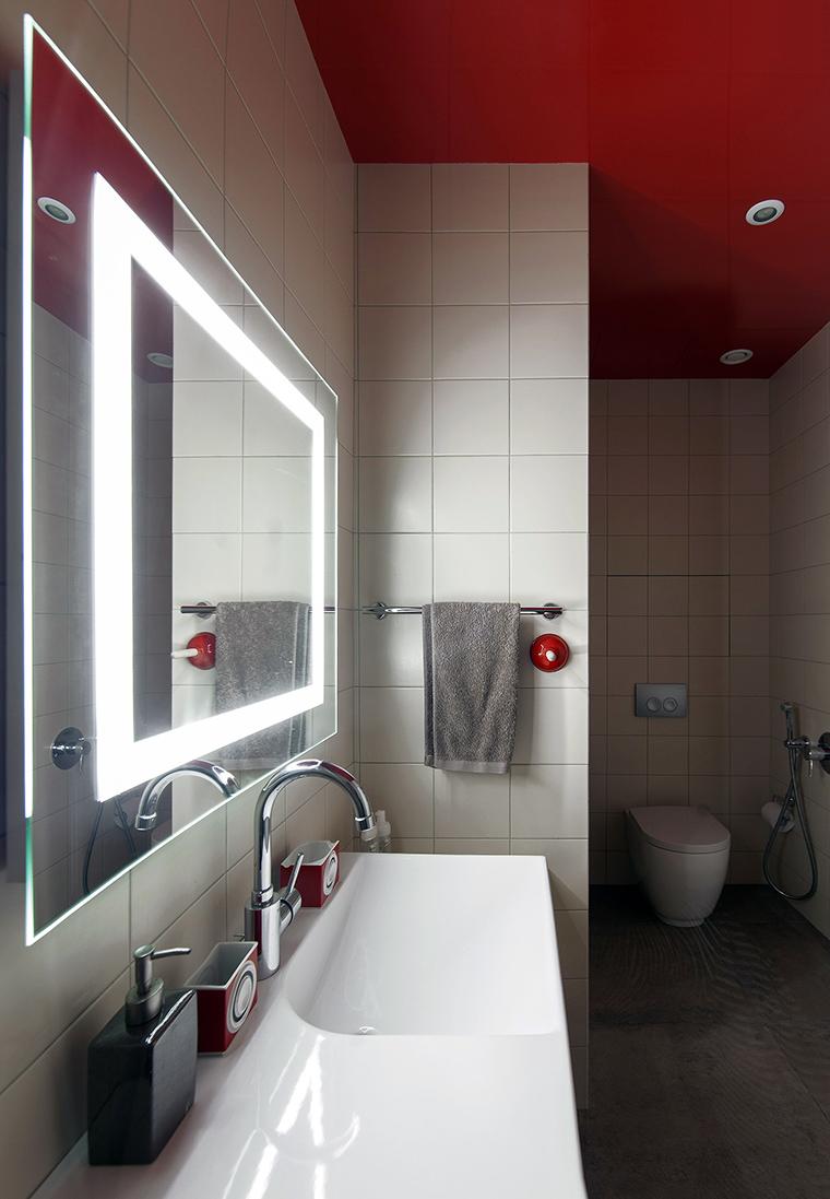 Квартира. ванная из проекта , фото №58223