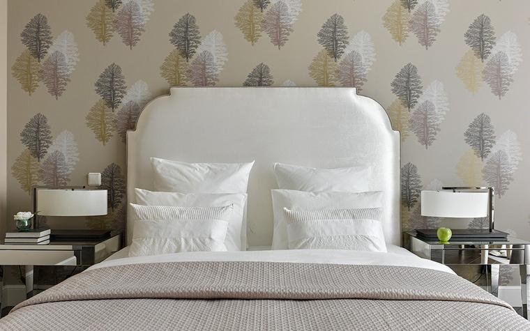 интерьер спальни - фото № 58347