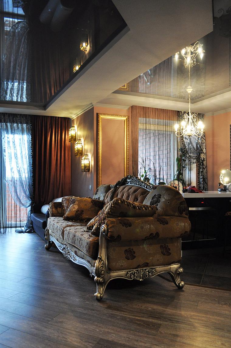 интерьер гостиной - фото № 58427