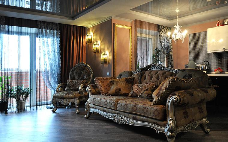 интерьер гостиной - фото № 58428
