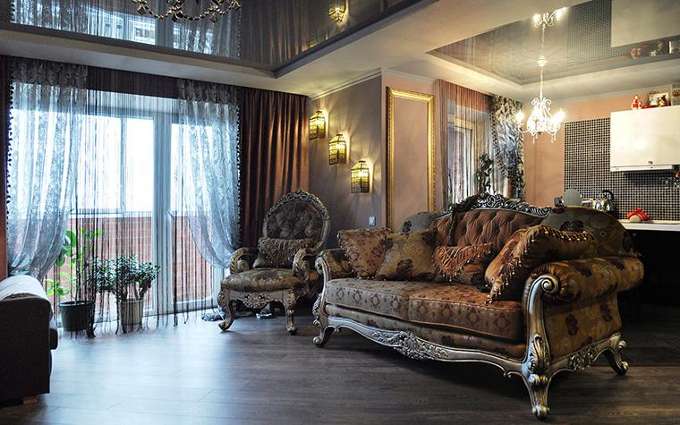 интерьер гостиной - фото № 58429