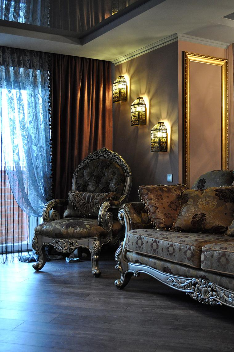 интерьер гостиной - фото № 58430