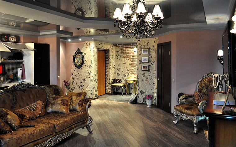 интерьер гостиной - фото № 58422