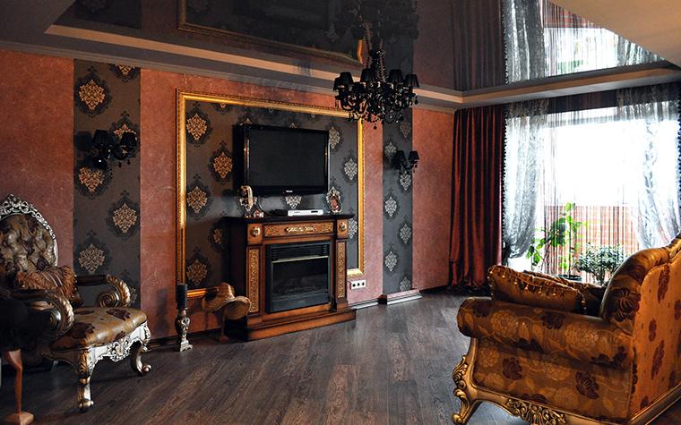 интерьер гостиной - фото № 58423