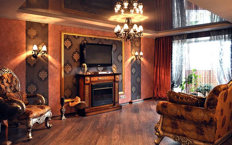 интерьер гостиной - фото № 58424