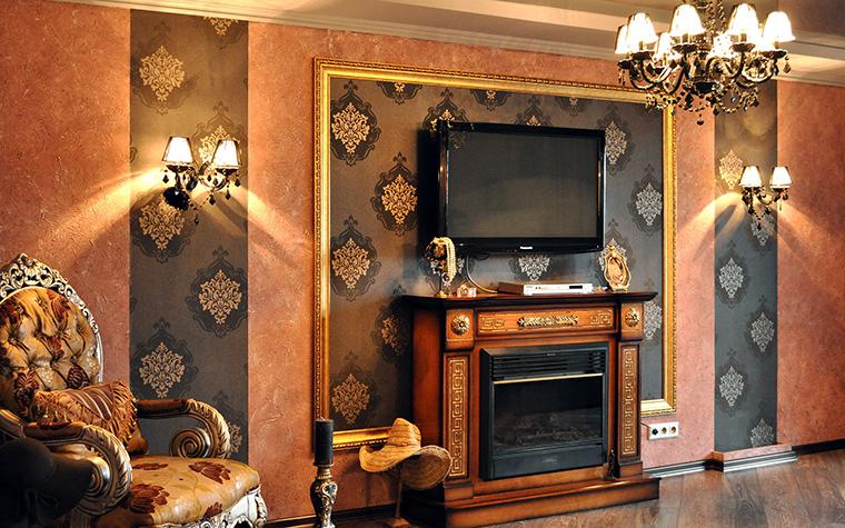 интерьер гостиной - фото № 58425