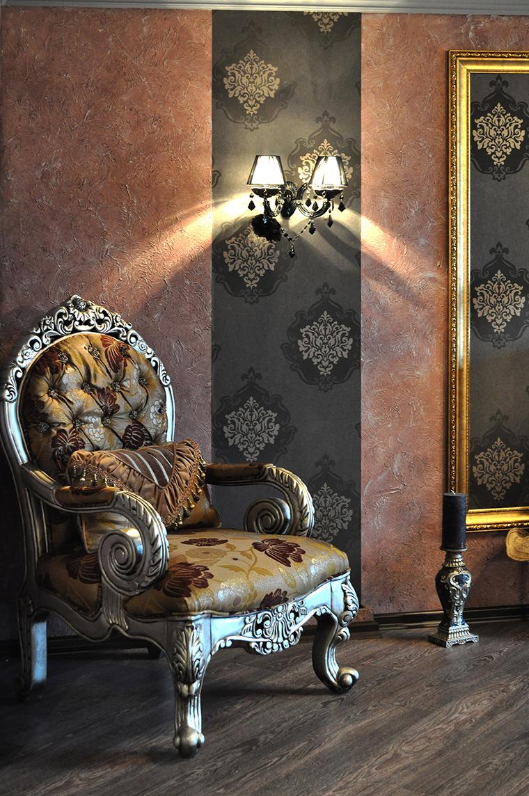 интерьер гостиной - фото № 58426