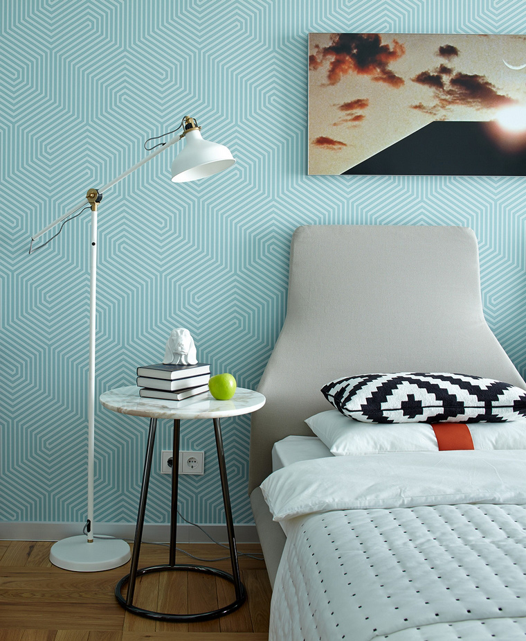 интерьер спальни - фото № 58456