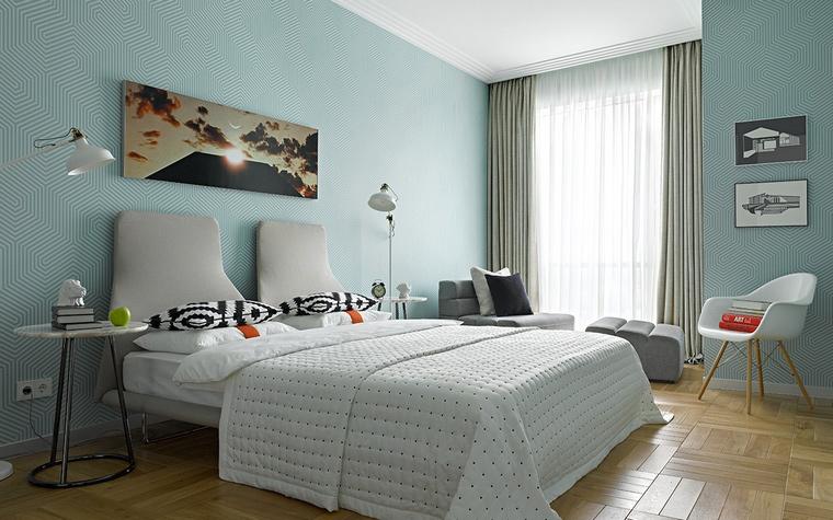 интерьер спальни - фото № 58458