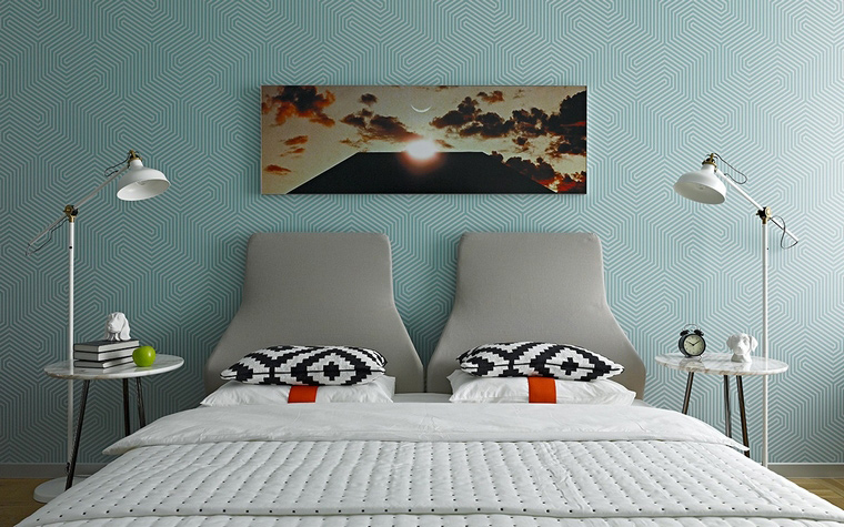 интерьер спальни - фото № 58459