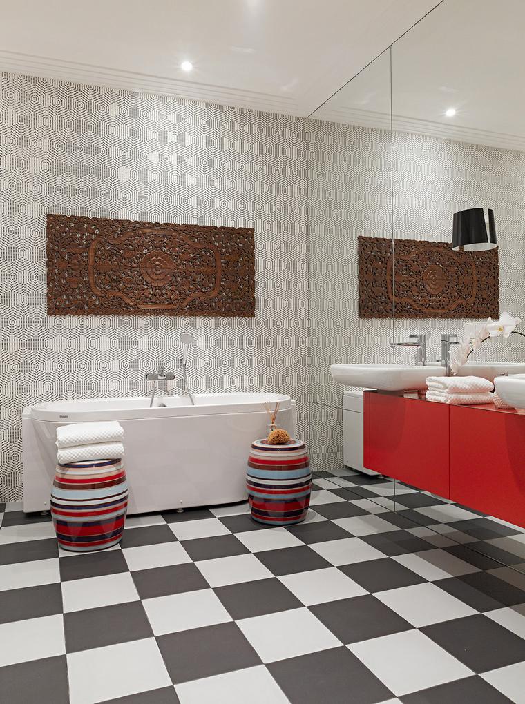 Квартира. ванная из проекта , фото №58460