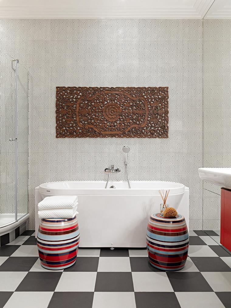 Квартира. ванная из проекта , фото №58461