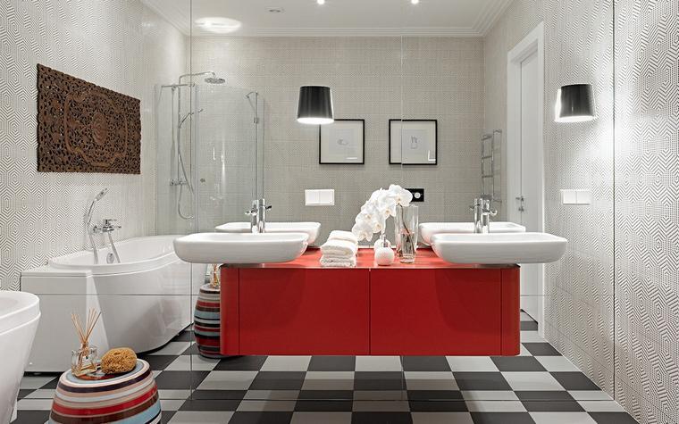 Квартира. ванная из проекта , фото №58463
