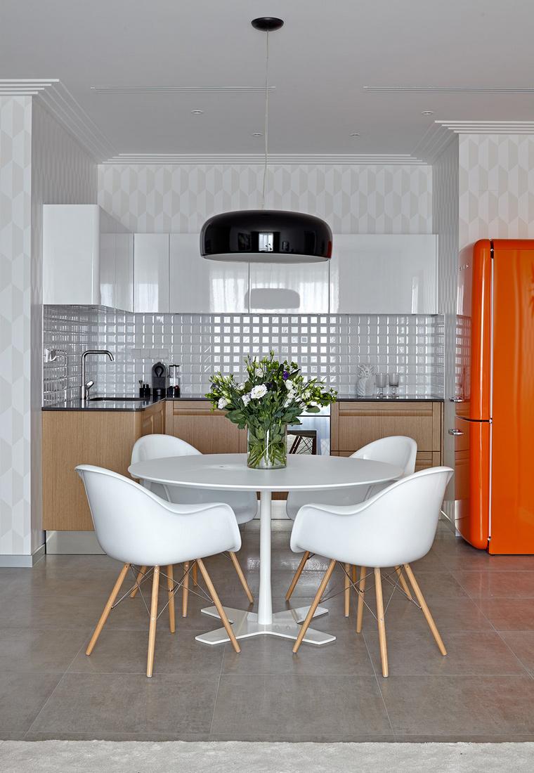 Квартира. кухня из проекта , фото №58453