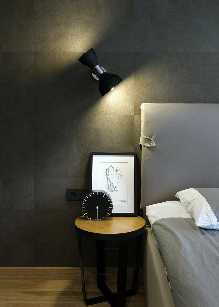 Квартира. спальня из проекта , фото №58505