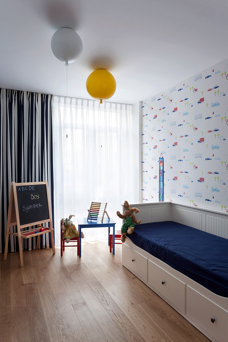 Квартира. детская из проекта , фото №58506