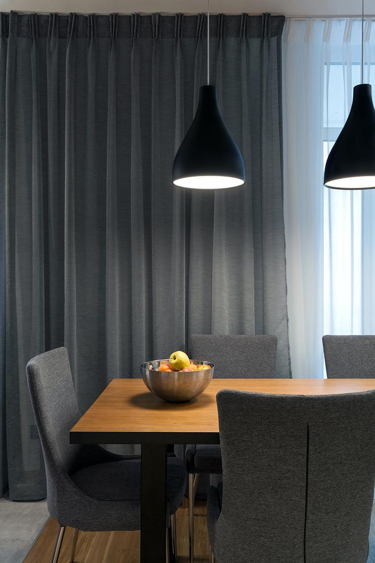 Квартира. столовая из проекта , фото №58501