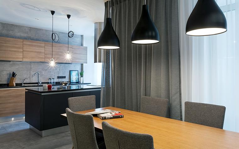 Квартира. столовая из проекта , фото №58502