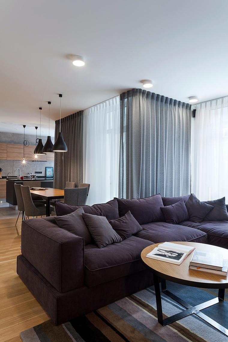 Фото № 58496 гостиная  Квартира